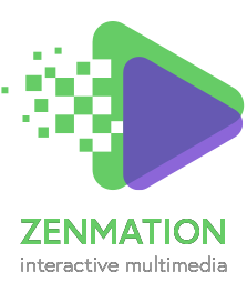 ZenMation Interactive Multimedia logo